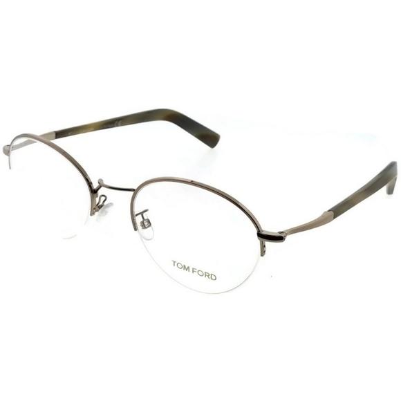 5e0e72340e6 FT5334-034-52 Unisex Rose Gold Frame Eyeglasses